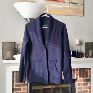Cynthia Rowley Navy cardigan sz Medium